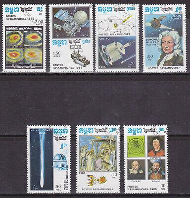 2019 Neuestes Design Wiederkehr Des Halleyschen Kometen Kompletter Satz Kambobscha 1986 C1639