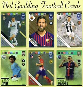 Panini-FIFA-365-2019-UPDATE-Fans-Gold-Power-Up-Top-Master-UE65-to-UE132