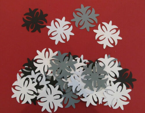 Embellishments Paper Crafts Choice of Cardstock Colours 30 Elegant Diecuts