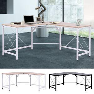 L-Shaped-Computer-Desk-Office-Wood-Corner-PC-Workstation-Large-Gaming-Desk-Table