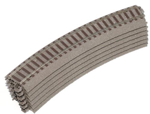 Trix h0 62130 sagomata C-binario 6 PEZZI NUOVO senza imballaggio originale raggio 1