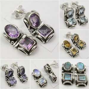 925-Solid-Silver-Tribal-Studs-Earrings-Made-In-India-Affordable-Wedding-Jewelry