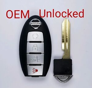Nissan Rogue Remote Start >> Details About Unlock Oem 2017 2018 Nissan Rogue Smart Prox Key 4b Remote Start Kr5s180144106