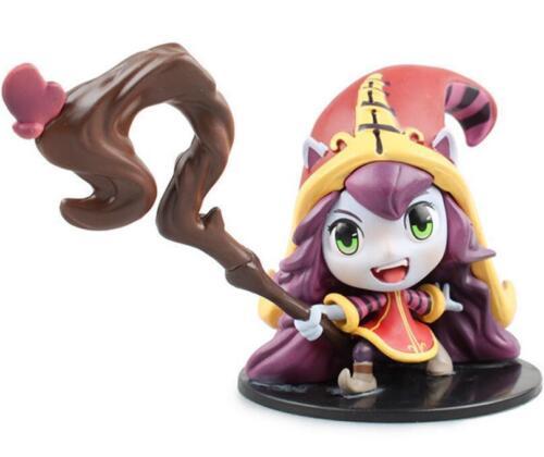 DZ1035 LOL League of Legends The Fae Sorceress Lulu Action Figure Toys 8.5cm ψ