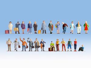 Envio gratis en todas las ordenes Noch 16101 XL Figura Set - Travellers (24) (24) (24) HO Gauge  el estilo clásico