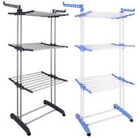 Deals on 66-inch Laundry Clothes Storage Drying Rack