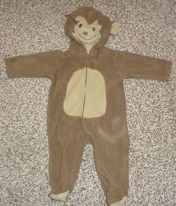 6a8f3c6db69d Carters Baby Boys Girls Monkey Halloween Costume Footed Fleece 6 ...