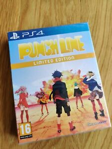 Punch-Line-Limited-Edition-PS4-Playstation-4-Pal-UK-New-Factory-Sealed