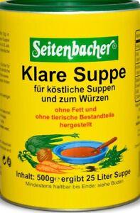 Seitenbacher-Klare-Suppe-ohne-Fett-vegetarisch-Laktosefrei-Glutenfrei-500g-Dose