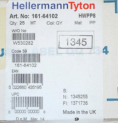 2019 Fashion Hellermanntyton 161-64102 Spiralschlauch Hwpp8 Schutzschlauch 25 Meter Neu