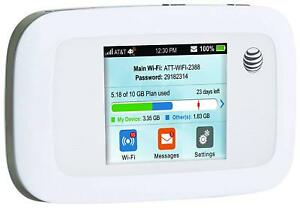 NEW-IN-BOX-AT-amp-T-ZTE-Velocity-4G-LTE-Mobile-Wi-Fi-Hotspot-MF923