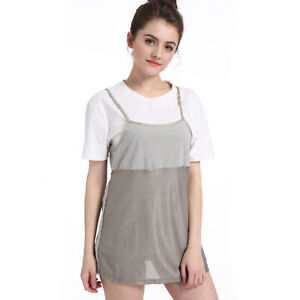 f341d05d0ba85 Image is loading Pregnancy-Dress-Anti-Radiation-EMF-Protection-Maternity -Baby-