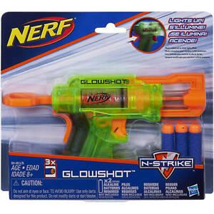 NERF-GLOWSHOT-N-STRIKE-CON-LUZ-3-DARDOS-HASBRO-NUEVO-A-ESTRENAR
