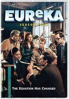 Eureka Complete 4th Fourth Season 4 Four (4.0 & 4.5) Brand 5-disc Dvd Set