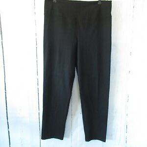 New-Women-With-Control-Slimming-Shaping-Pant-L-Large-Black-Pull-On-QVC