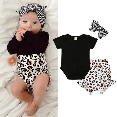 Newborn Infant Baby Romper Jumpsuit Clothes Bodysuit Boy Girl Outfits Kid Lots R