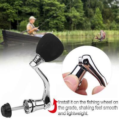 Reel Replacement Power Handle Fishing Knob Spinning Metal Rocker Arm Grip