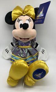 Disney Parcs WDW 50th The Most Magical Célébration Minnie Peluche Neuf Avec Tag