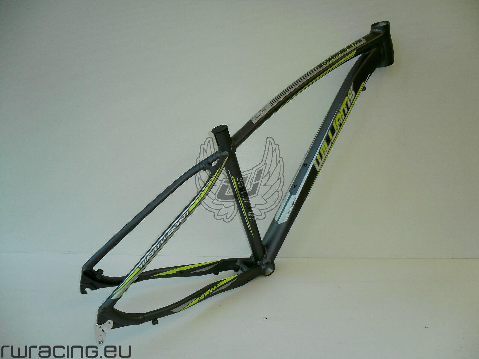 Telaio mtb 29 per bici   xc   crosscountry alluminio Williams ANTRACITE   LIME