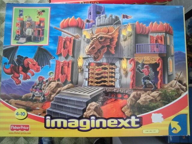 Fisher Price Imaginext CASTELLO IL DOMINIO DI DRAGOMONT Castle