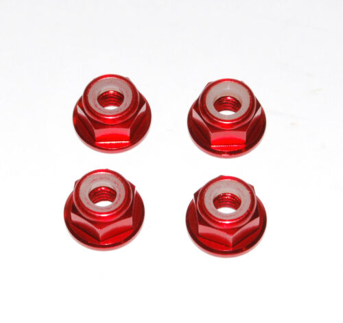 Rc Red Aluminium Wheel Nut For 1//10 Losi Baja Rock Rey Ten Tenacity 22s Crawler