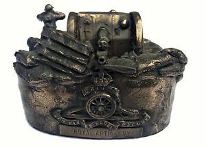 First-World-War-18-Pounder-Gun-Royal-Artillery-Cold-Cast-Bronze-Statue