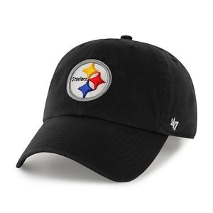 Pittsburgh-Steelers-47-Brand-Clean-Up-Hat-Adjustable-Cap