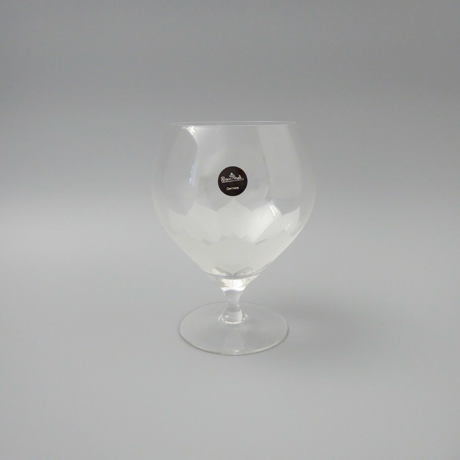 6 pièces Rosenthal Lotus Cognac-Schwenker verre H. 11,5 cm Inutilisé