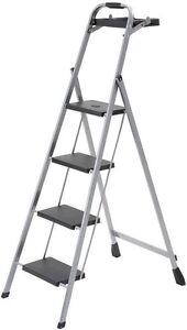4 Step Step Stool Ladder Step Steel Skinny Mini Project