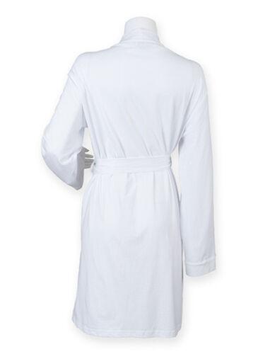 Towel City Ladies Robe Damen Kimono Bademantel S M L Morgenmantel 4 Farben