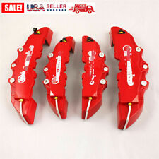 4pcs Front Amprear Red 3d For Brembo Style Car Disc Brake Caliper Covers Universal Fits 2011 Kia Sportage
