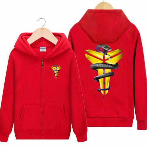 Kobe Bryant Hoodie Men Long sleeve Sweatshirt Sports Casual Clothes Plus