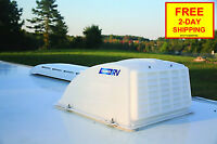 NEW Camco RV Camper Trailer Motorhome Roof Vent Rain Cover (White) 40431