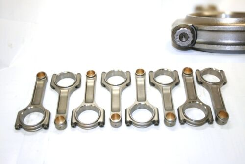 """Chrysler Dodge 318 6.123/"""" Forged 4340 PRO I-BEAM CONNECTING ROD W//ARP 8740 Bolts"""