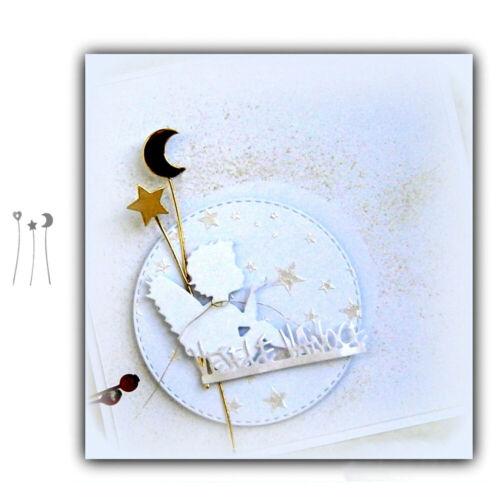 Stanzschablone Mond Star Herz Hochzeit Oster Geburtstag Weihnachten Karte Album