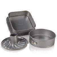 Wolfgang Puck 3 Piece Springform Baking Pan Set Wprsfp1012 3pc