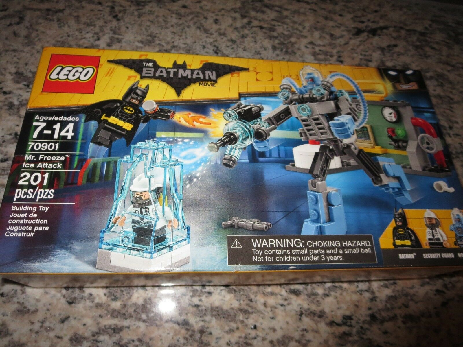 Lego Batman Film Mr.Freeze Ice Angriff 2016 2016 2016 (70901) Neu cedfe6