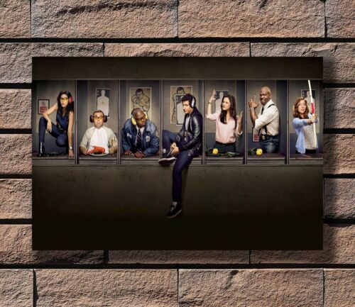 Art Poster 24x36 27x40 Brooklyn Nine-Nine Action Comedy TV Series Season T-495