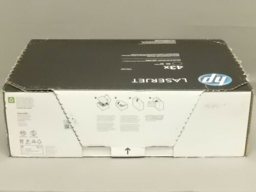 HP C8543X 43X Black Toner Cartridge LaserJet 9000 Genuine New Open Box