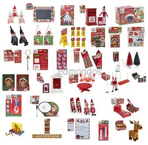 Elf-Accessories-Props-Put-On-The-Shelf-Ideas-Kit-Christmas-Decoration-Xmas-Toy