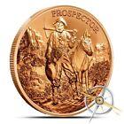1 oz Copper Round - Provident Prospector 999 Copper Bullion Round