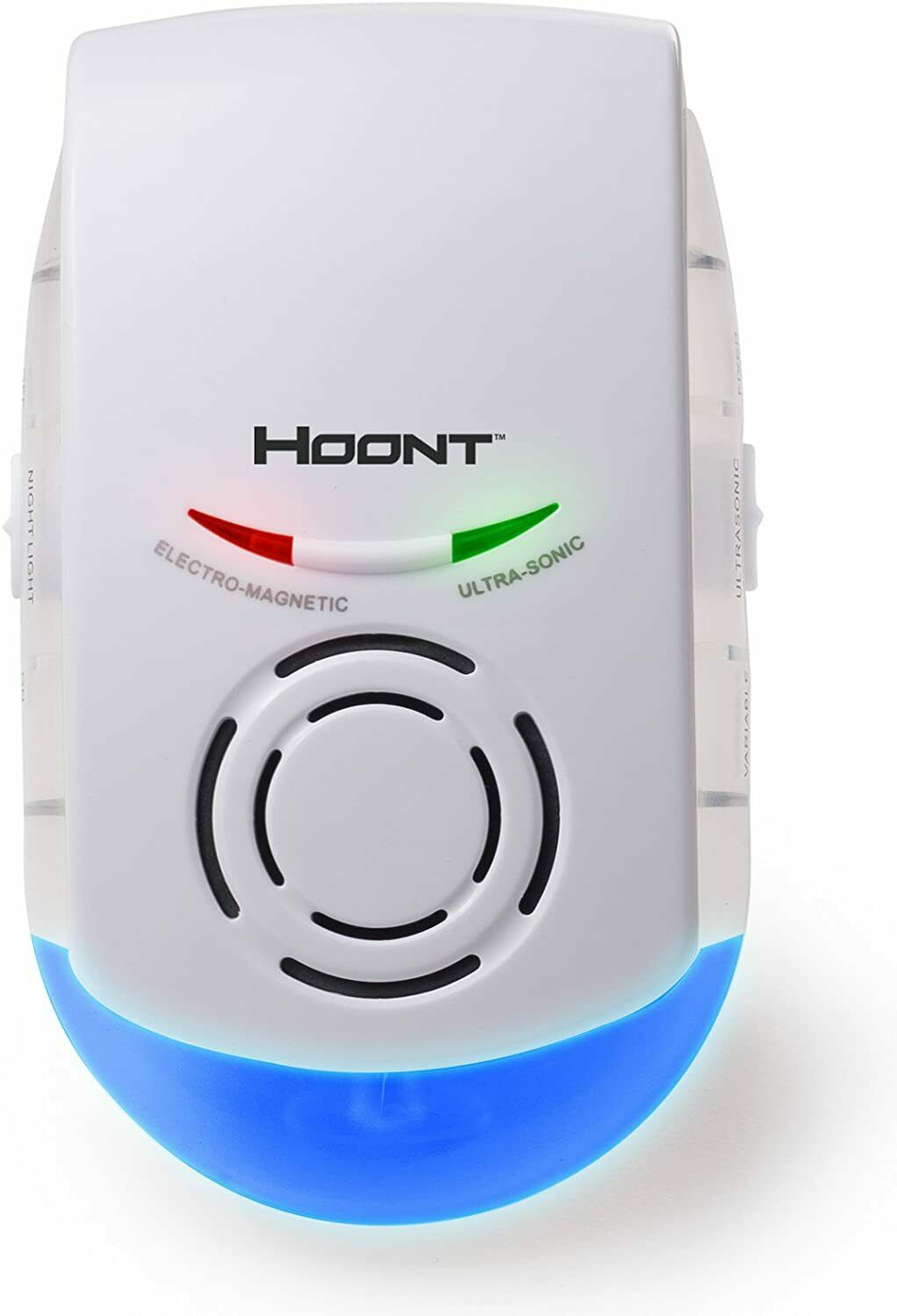 Hoont Indoor Powerful Plug-in Pest Repeller with Night Light – Eliminate All Typ