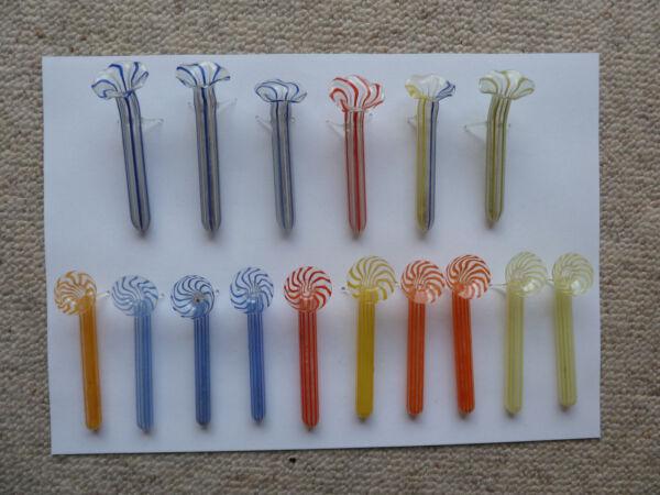 16 Glas Halter Für Blüten Mundgeblasen Tischdeko In Verschiedenen AusfüHrungen Und Spezifikationen FüR Ihre Auswahl ErhäLtlich