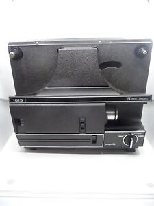 Bell & Howell Film Projector Model 1615 for Regular 8 and Super 8 film