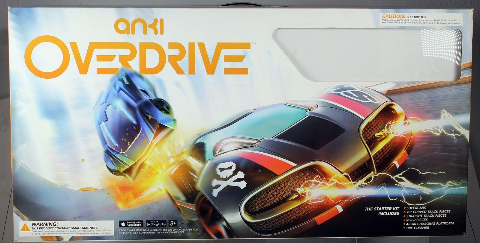 Anki Overdrive Starter Kit with 4 Cars Controlled Future Super Racing smart Car