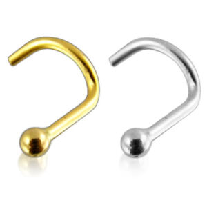 18G-14K-Solid-Gold-Top-Ball-Nose-Screw-Stud-Piercing-Jewelry