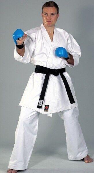 KWON Karate Anzug Kumite 12Oz. 100% 100% 100% Baumwolle für Wettk. und Train. Karateanzug ecffbf