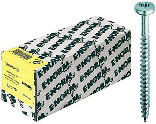 Inh.500 S E-NORMpro SPS Spanplattenschrauben Schraube Pan Head zn ISR4,5x 20 HP