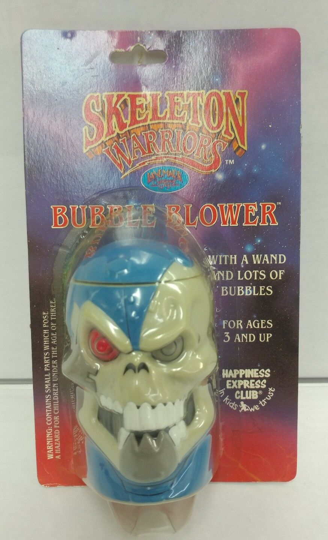 Club Edition Skeleton Warriors Bubble Blower Landmark Entertainment NEW 1994