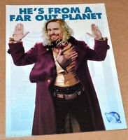 The Hitchhiker's Guid to the Galaxy PROMO' Postcard ZAPHOD BEEBLEBROX